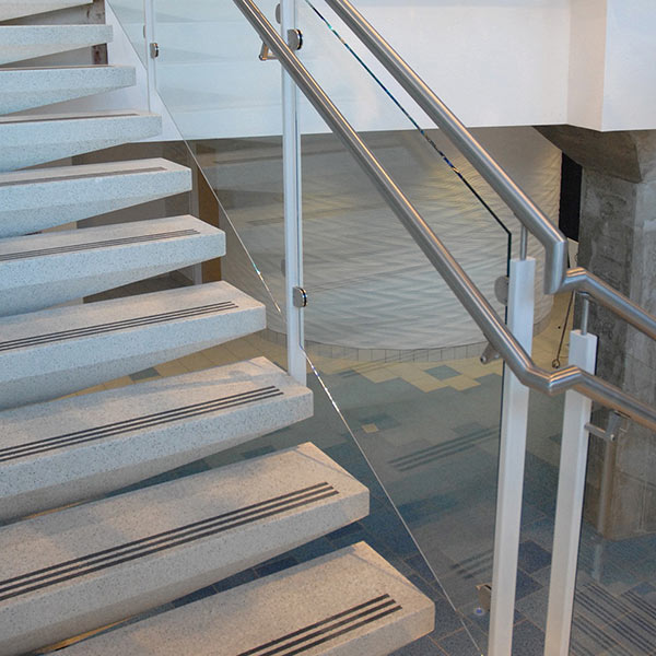 Cement Terrazzo Self-Supporting Tread & Risers
