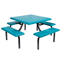 MF1020 Square Modular 4-Bench Table