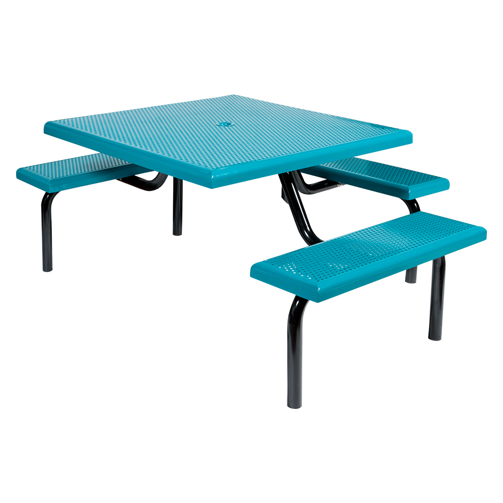 MF1021 Square Modular 3-Bench ADA Table