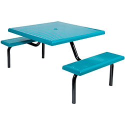 MF1022 Square Modular 2-Bench ADA Table