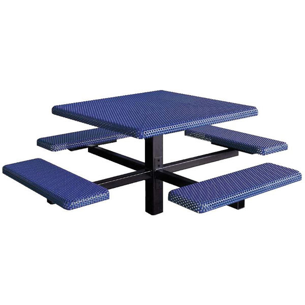 Square 4-Bench Inground Mount ADA Compliant Table