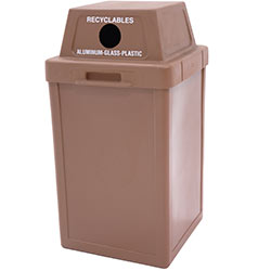 TF1001 Plastic Tuffy Recycling Container