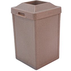 TF1013 Plastic Tuffy Waste Container with Pitch-In Top