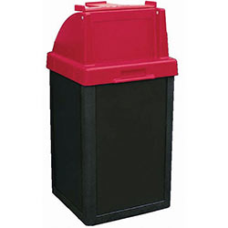 TF1017 Plastic Tuffy Waste Container with Tray Caddy Top