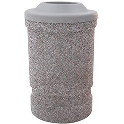 TF1120 HS Concrete Waste Container with Pitch-In Plastic Top