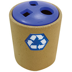 TF1221 HS Concrete Recycle Container with 3-Hole Top