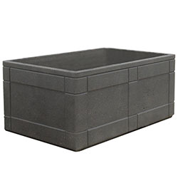 TF4183 HS Rectangular Concrete Planter