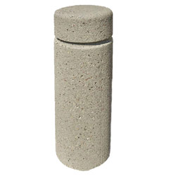 TF6010 QS Concrete Bollard with Reveal Line
