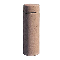 TF6020 QS Concrete Bollard with Reveal Line