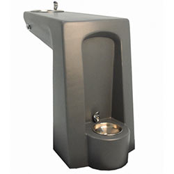 TF7072 HS Concrete Drinking Fountain with Pet Bowl