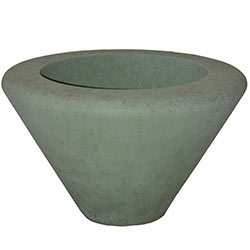 WS106 HS Graduated Concrete Planter