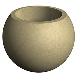 WS110 HS Spherical Concrete Planter