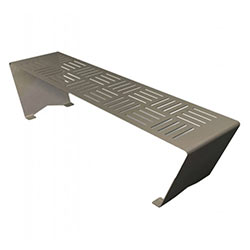WS201 Folded Steel Bench