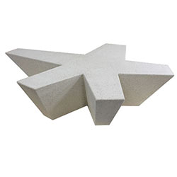 WS5161 HS Concrete Star Bench